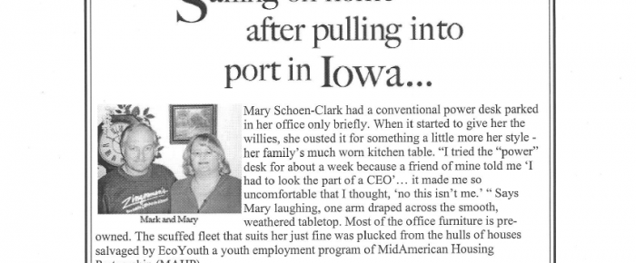 Article About Leaving MAHP and Iowa